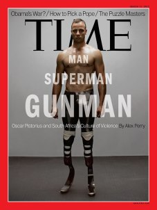 Oscar Pistorius, cyborg