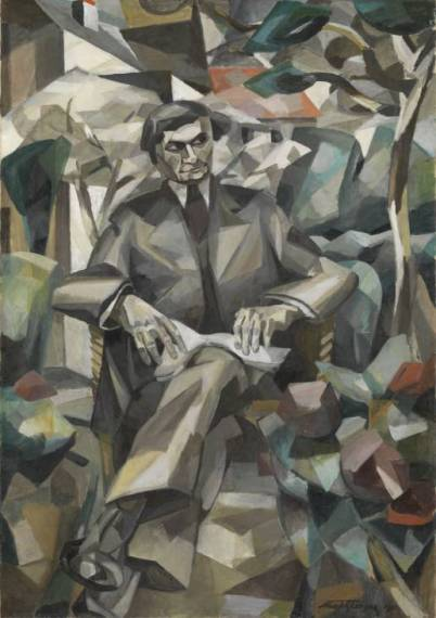 """http://www.tate.org.uk/art/work/T02410""Portrait of Jacques Nayral 1911 Albert Gleizes 1881-1953 Purchased 1979"