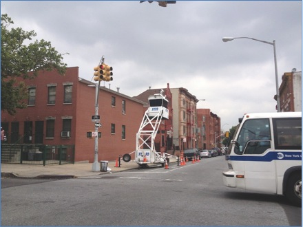 Figure 3: An NYPD Sky Watch Tower
