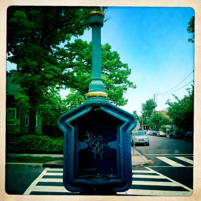 Police Call Box, Washington, DC © Jennie Simpson 2014