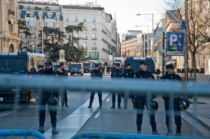 Police Marcha Dignidad