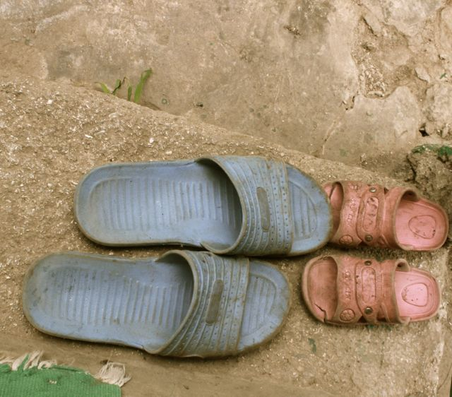 Parent and child shoes