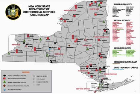 NY Correctional Facilities